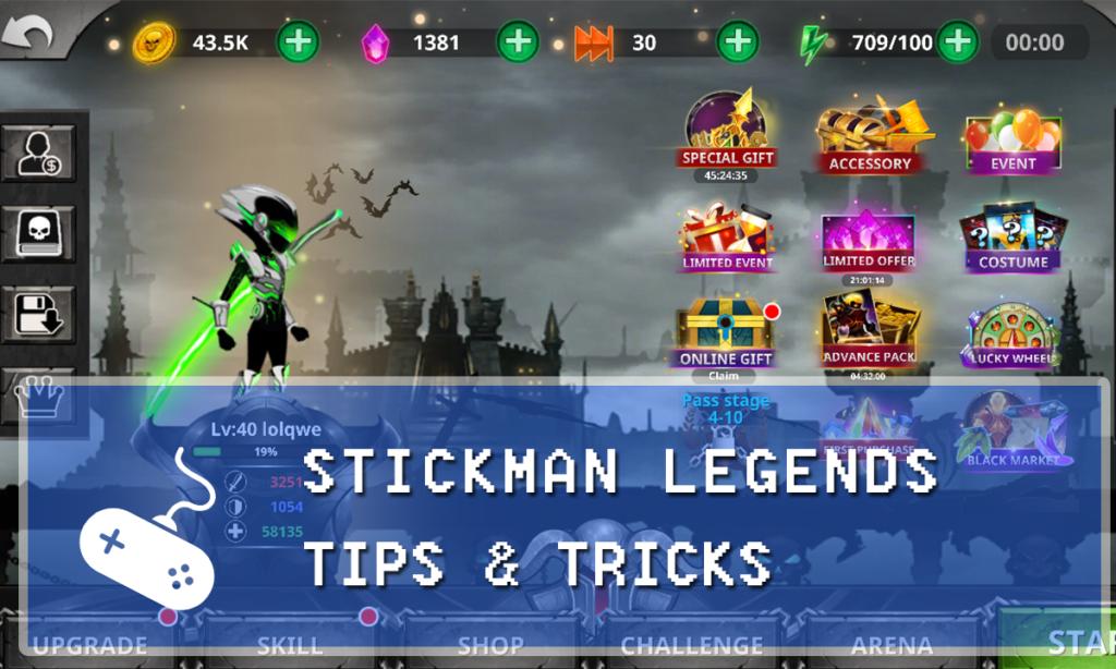 Stickman Legends: Shadow Wars Guide: Tips & Tricks for Dummies