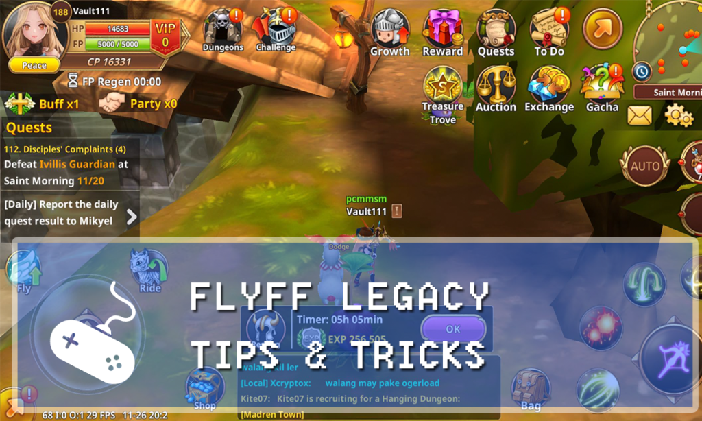 Flyff Legacy Guide: Tips & Tricks for Dummies - Gaming Vault