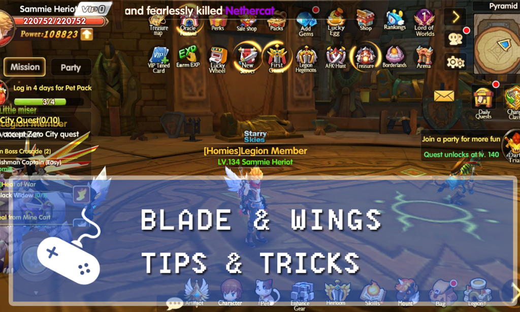 Blade & Wings Guide: Tips & Tricks for Dummies - Gaming Vault